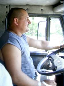 Водитель дальнобойщик