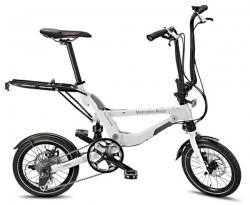 Вот так выглядит разложеный велосипед от Mercedes