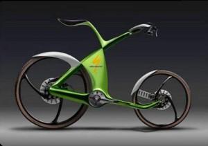 велосипеды необычные зеленые
