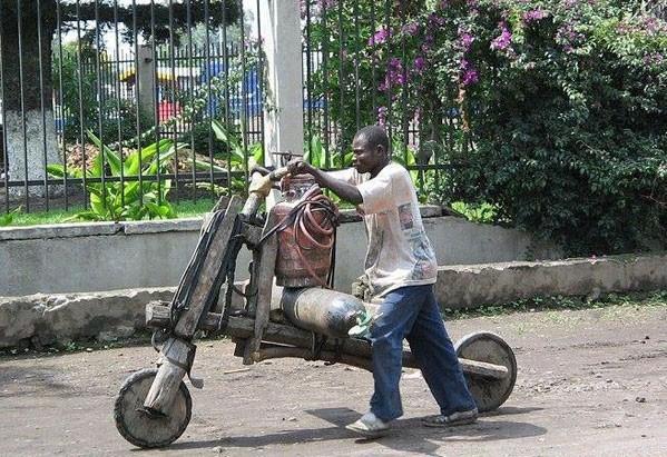 Велосипед от Н'гамба