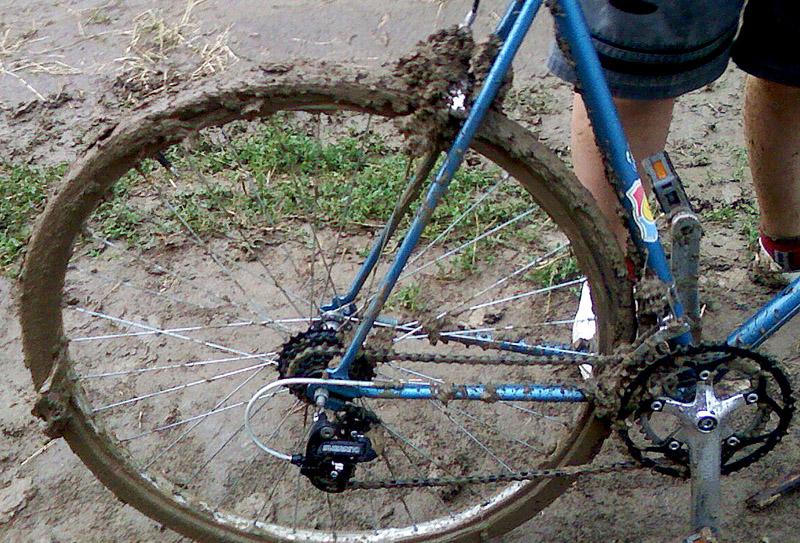 общий вид велосипеда