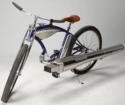 велосипед на реактивной тяге