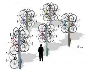 Велосипеды теперь будут расти на деревьях гроздьями
