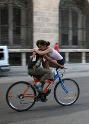 Использование велосипеда