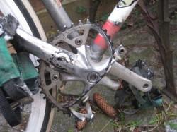 Части тела дорожного велосипеда