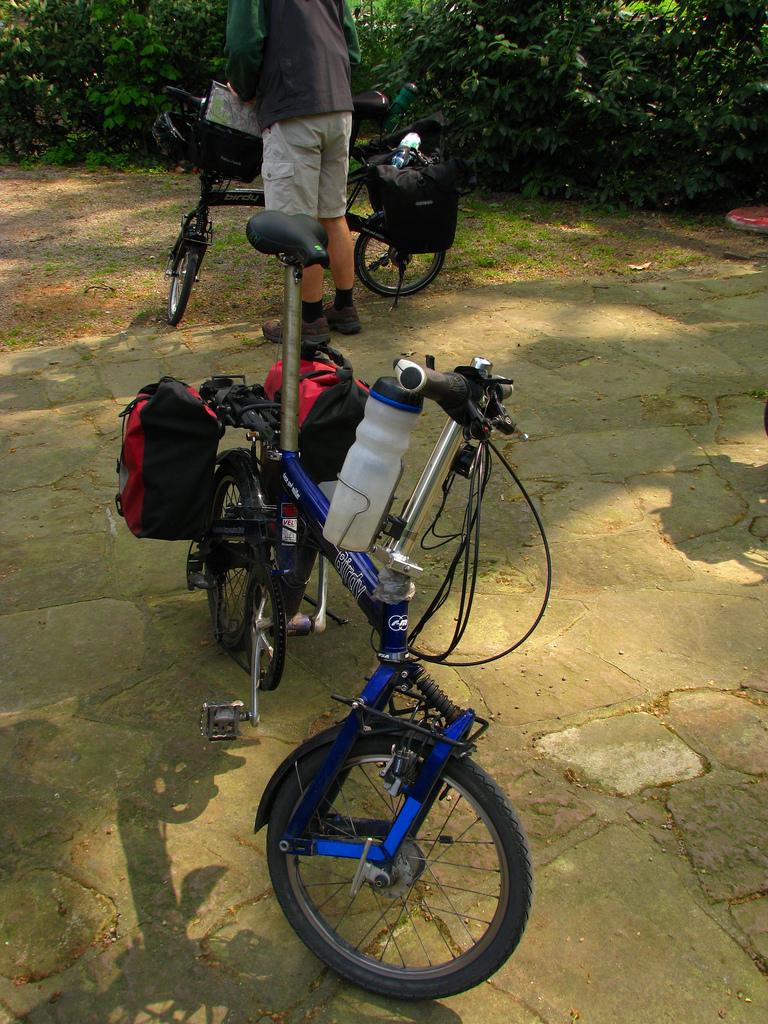 Велосипед для туризма