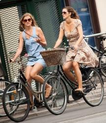 красотки на велосипедах