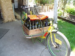 Wine bottle transport!
