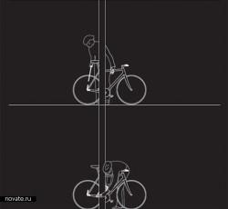 Велосипед с фонариком