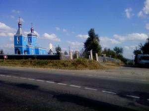Церковь в селе Вербка