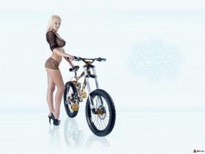 Велосипедные обои wallpaper_kona+girl