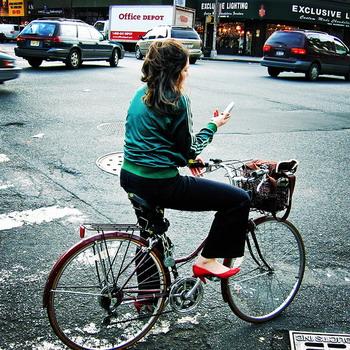 Велоспорт не женское дело