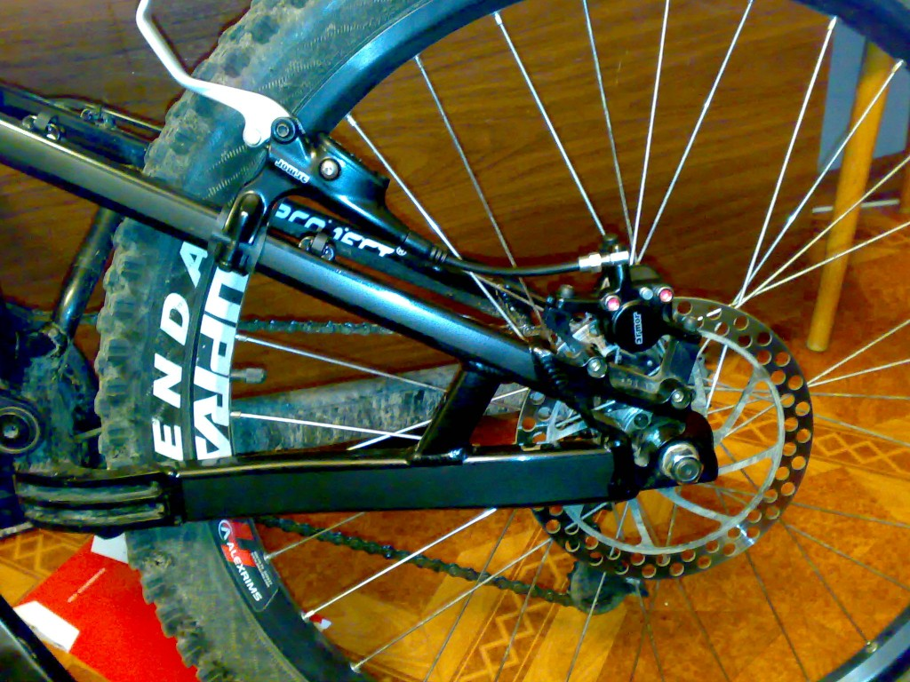 Как сделать тормоз на скоростном велосипеде