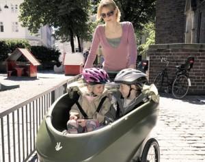 трехколесный велосипед для взрослых и малышей
