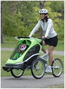 Велосипед и детская коляска Zigo Leader