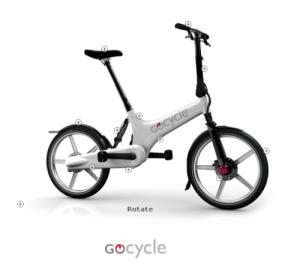Gocycle  складной электро-велосипед