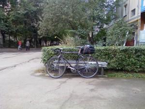 велосипед для туризма готов