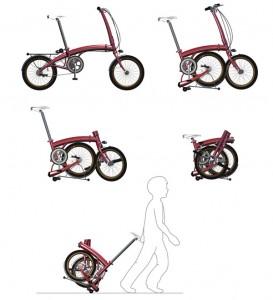 Складные велосипеды от Кристиано Giuggioli