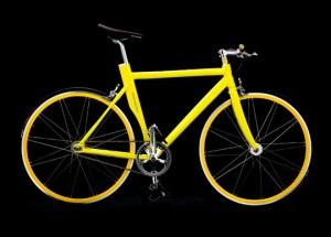 Желтый сексуальный велосипед