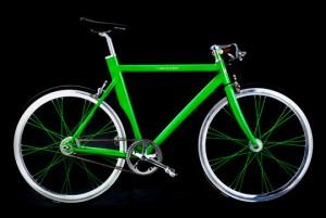 Зеленый сексуальный велосипед