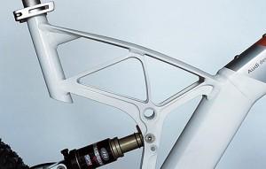 Велосипед от AUDI задняя подвеска