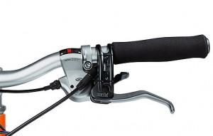 Велосипед от AUDI тормозные ручки