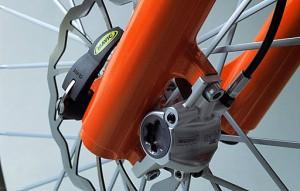Велосипед от AUDI передняя вилка