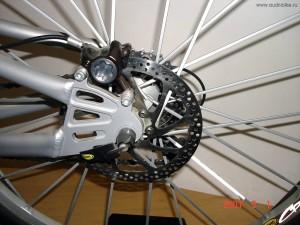 Велосипед от AUDI тормоза