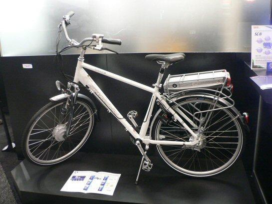 Электровелосипед Cannondale на SCiB-батареях Toshiba