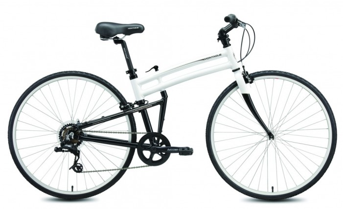 Folding Land Rover urban touring bike
