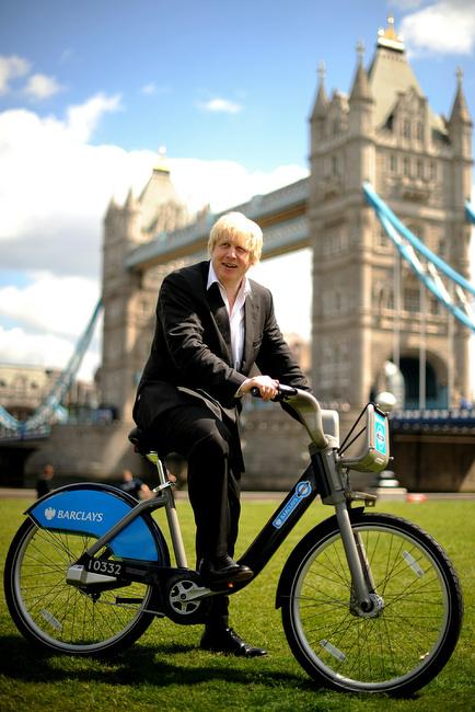 Мер Лондона на велосипеде