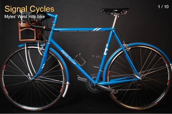 Городской велосипед от signal cycles 1