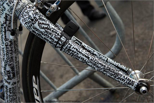 Необычные раскраски велосипедов