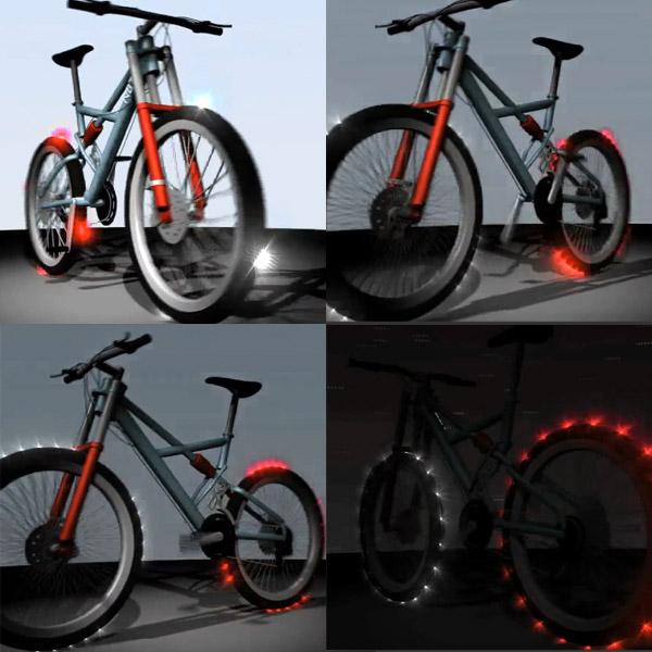 Светящиеся шины Cyglo Tyre