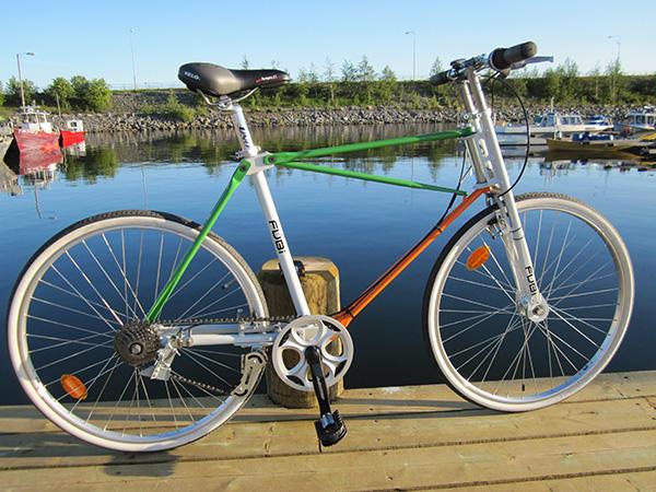 Складной велосипед Fubi