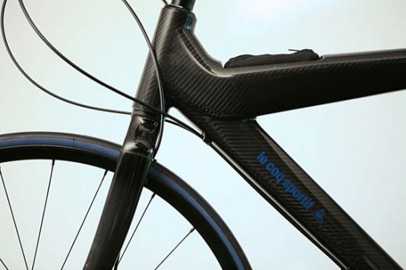 Карбоновый городской велосипед Le Coq Sportif