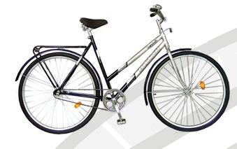 Велосипед Украина с женской рамой Ukraine bike