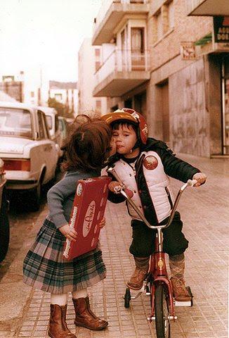 дети на велосипеде