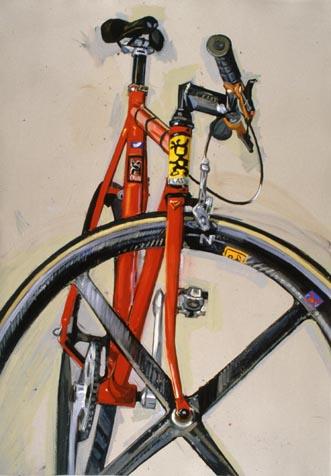 Рисованный велосипед bike draw