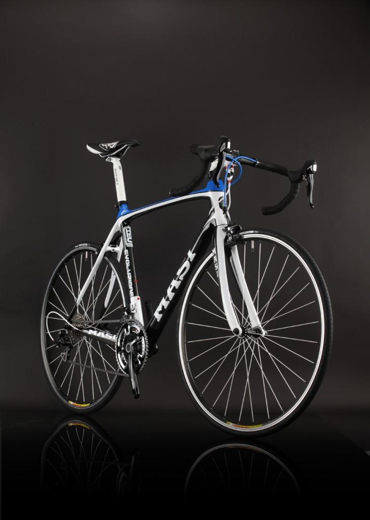 карбоновый велосипед masi  blue