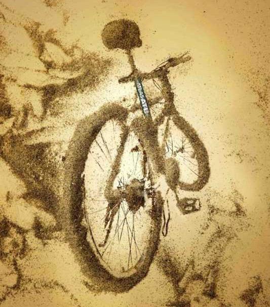Грязные велосипеды
