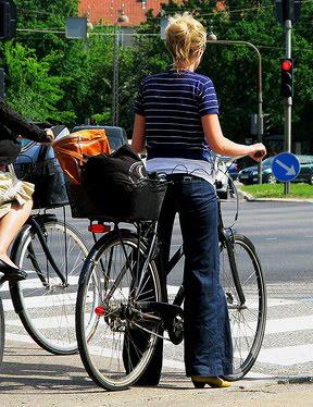 велосипед и девушки girl+bike