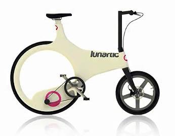 Велосипед будущего lunartic bike