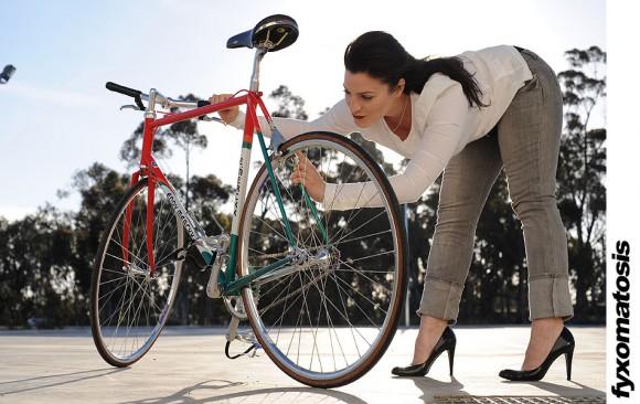 Европейский односкоростной велосипед