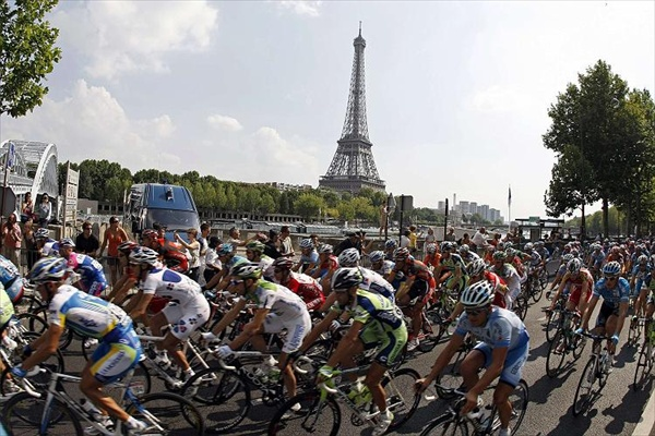 Тур де Франс. Париж