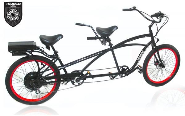 Электрический велосипед тандем
