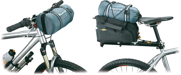 велосипедная палатка крепление