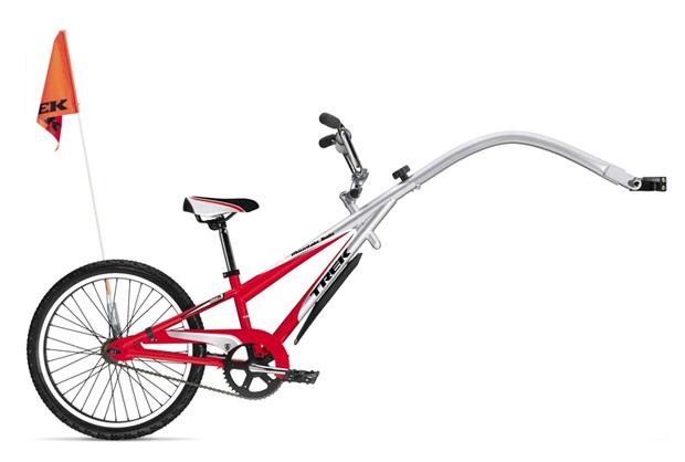 Детские велосипедные прицепы Trek