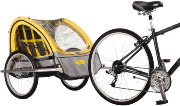 Велотрейлер для детей Rocket 2010