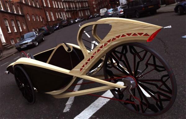 Бамбуковый велосипед лигерад